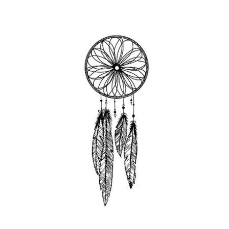 Walmart Dream Catcher Magnificent Tattify Dreamcatcher Temporary Tattoo  Catch Set Of 2  Walmart Decorating Design