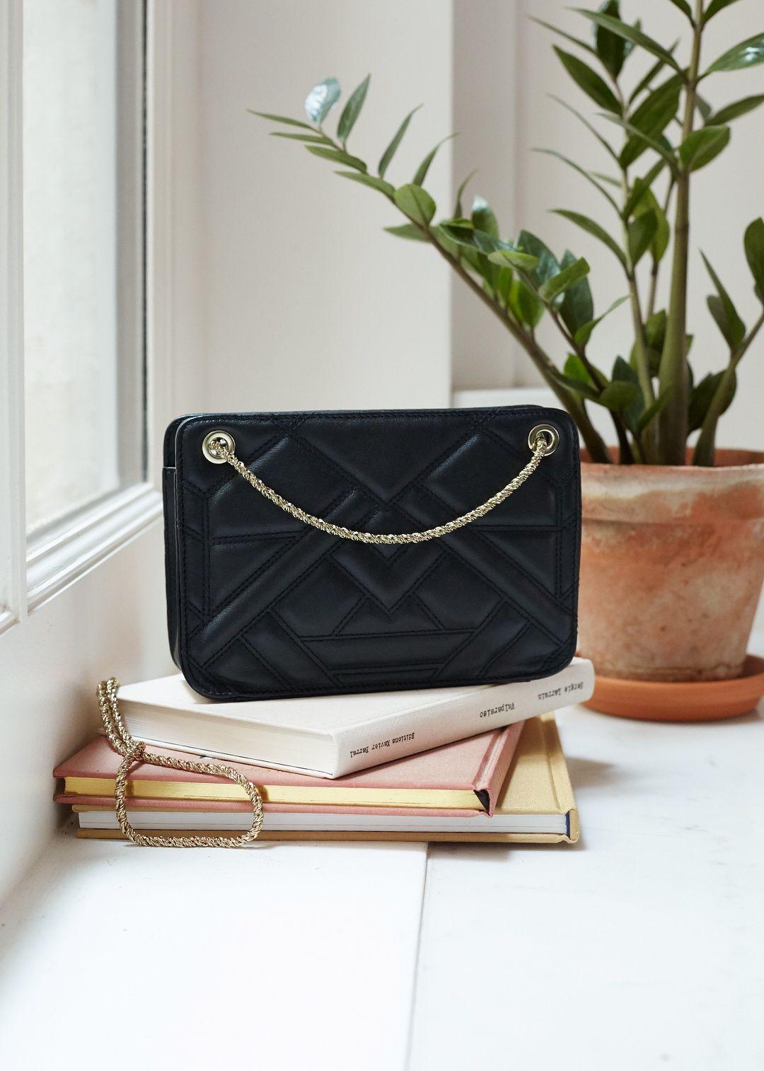 Sezane Mini Quilted Belli Bag Bags Bling Bags Mini