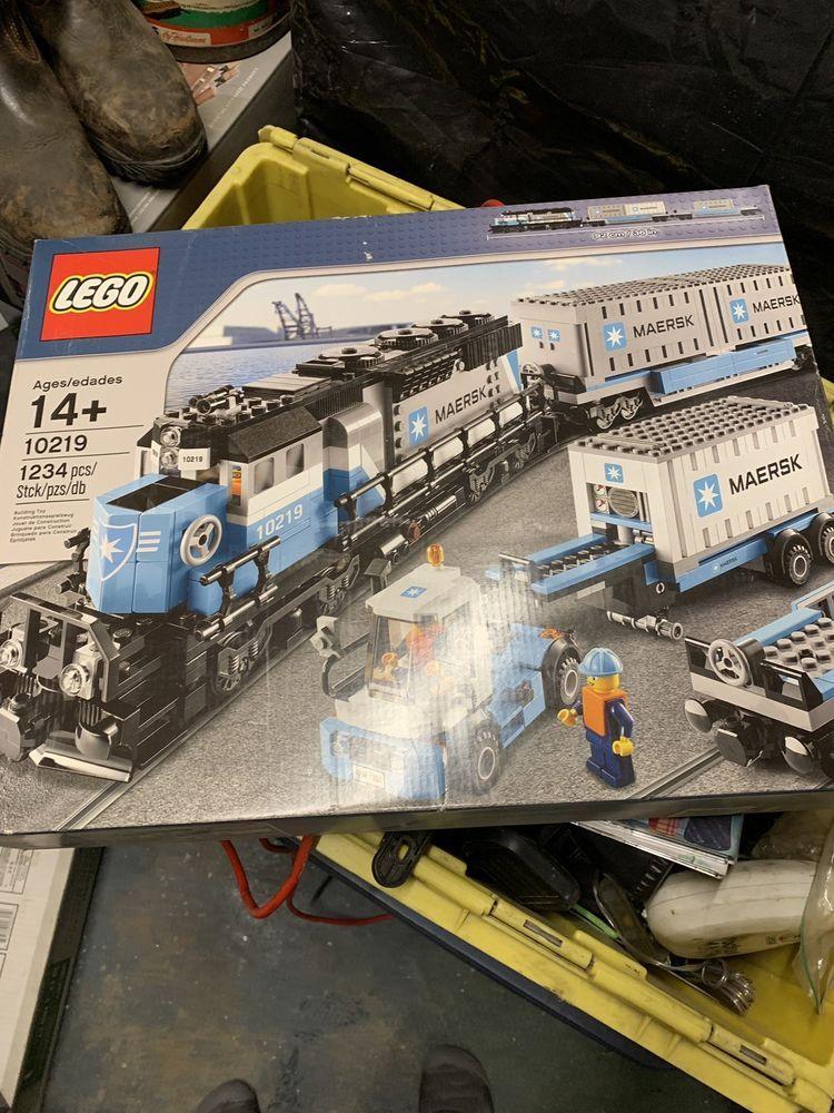 Lego Maersk Train 10219 Building Set Retired Brand New The
