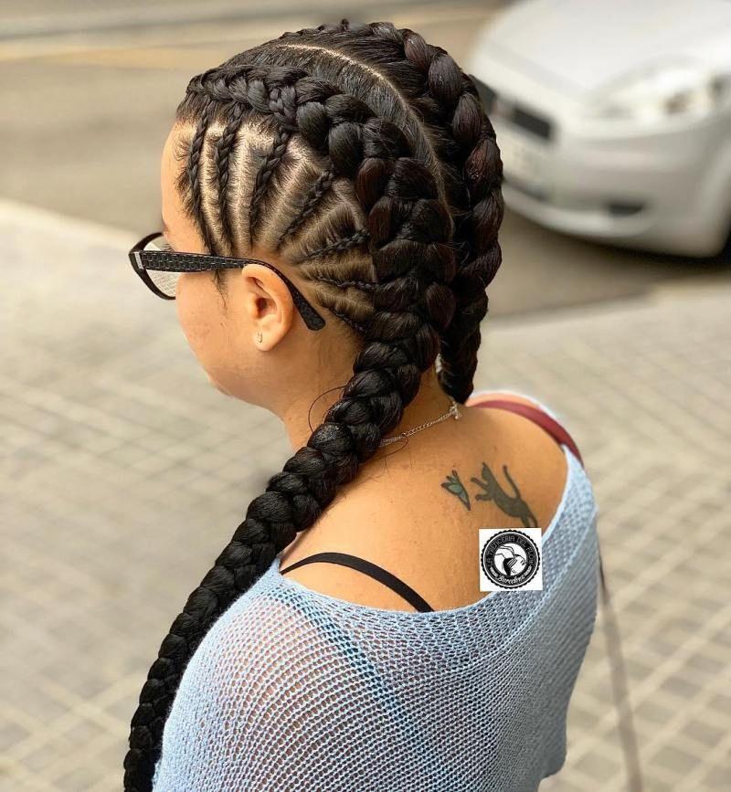 18 Pictures That Proves Braids On White Girls Looks Gorgeous Too Thrivenaija White Girl Braids Hair Styles Two Braid Hairstyles