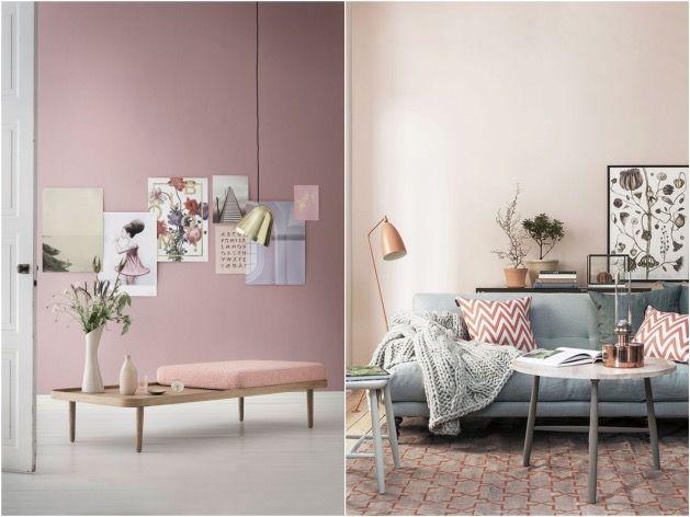 Pantone Rose Quartz et Serenity, \