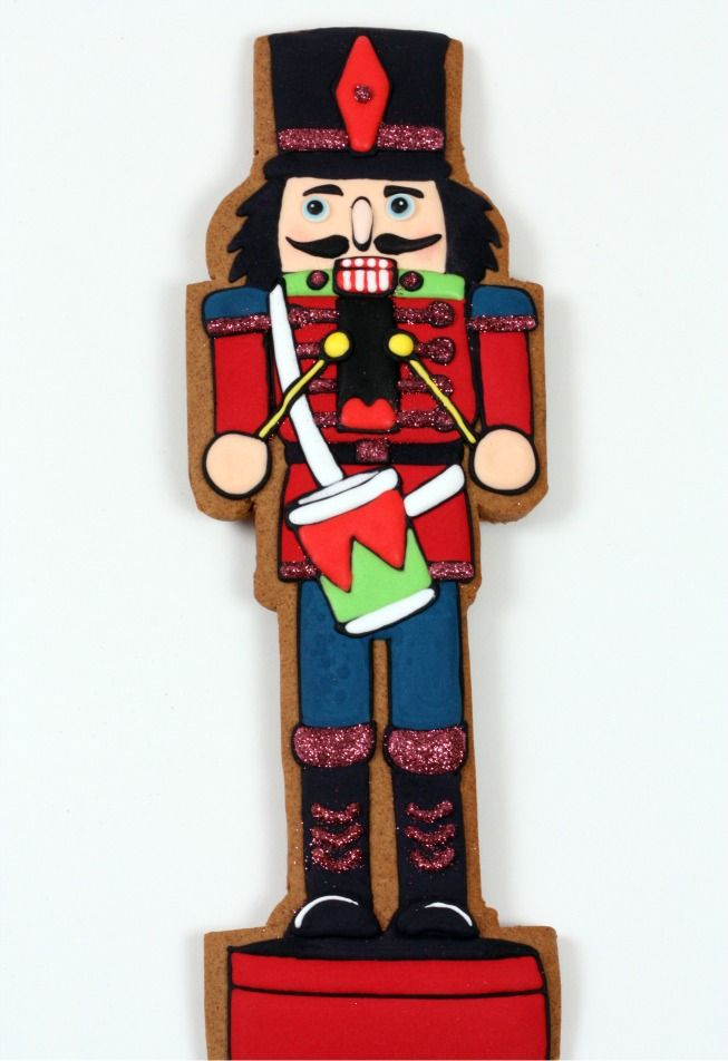 I know of a nutcracker FANATIC who would love one of these cookies to go with his nutcracker collection from Nana @Kelly Spencer Edwards