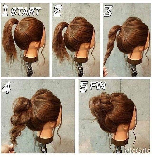 Messy Bun Dh Hair Long Hair Styles Hair Styles Hair