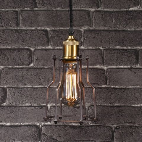 The Edison Industrial Ceiling Light