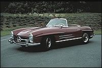1957 Mercedes-Benz 300SL Roadster #7500146 by Pinky and the Brain