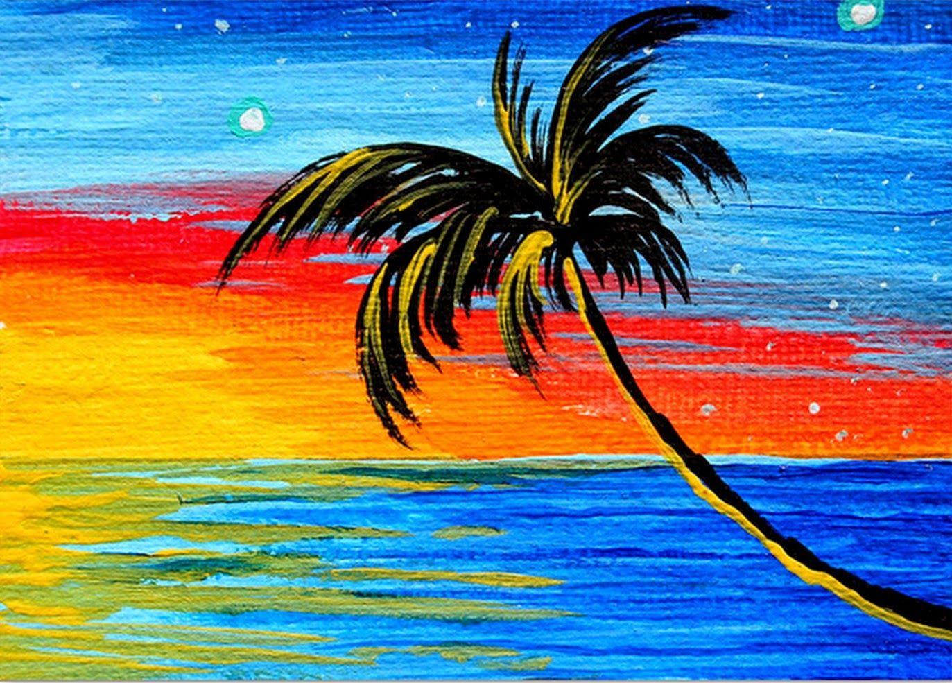 Pintura Moderna Y Fotografía Artística Dibujos Fáciles Para Pintar