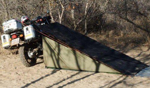 stealth c&er tent 11 500 & stealth camper tent 11 500 | Motorcycle Camping | Pinterest ...