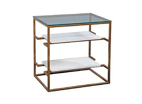 Artistica Culumus Rectangular Tier Table 374 290 Item