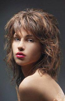 Fransiger Stufenschnitt Hairstyles Hair Styles Hair Und Hair Cuts