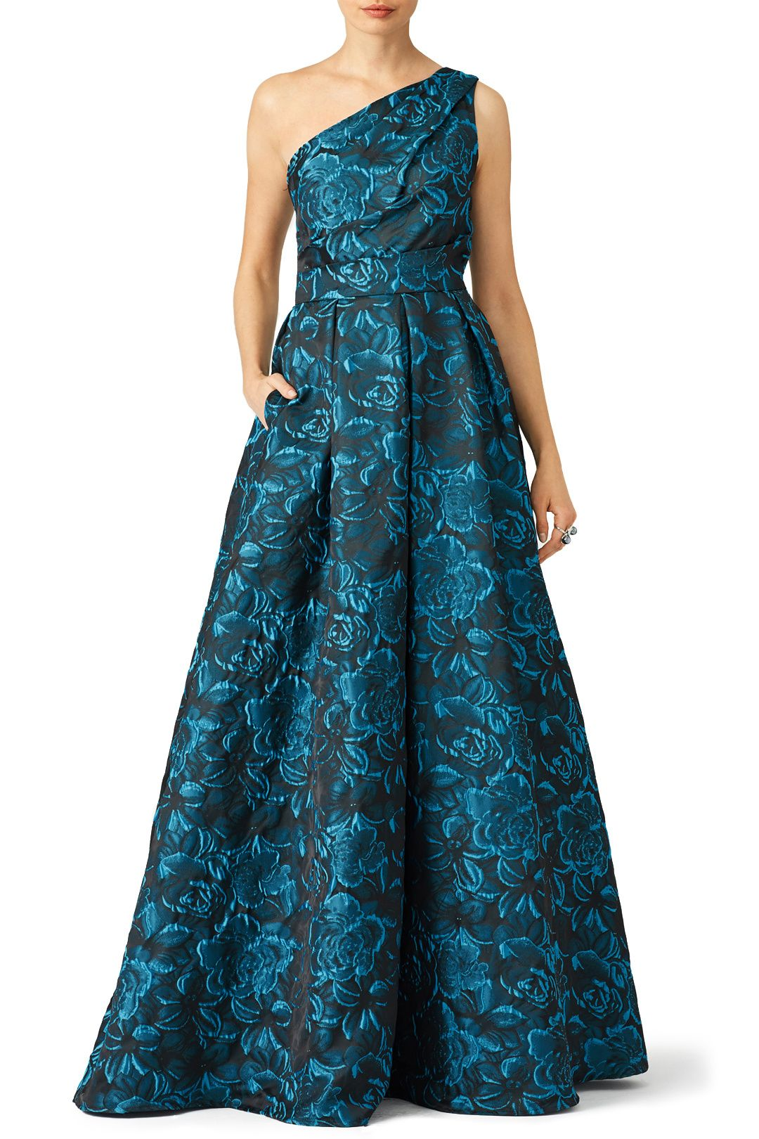Rent Blue Simonetta Gown by Slate & Willow for $50 - $85 only at ...