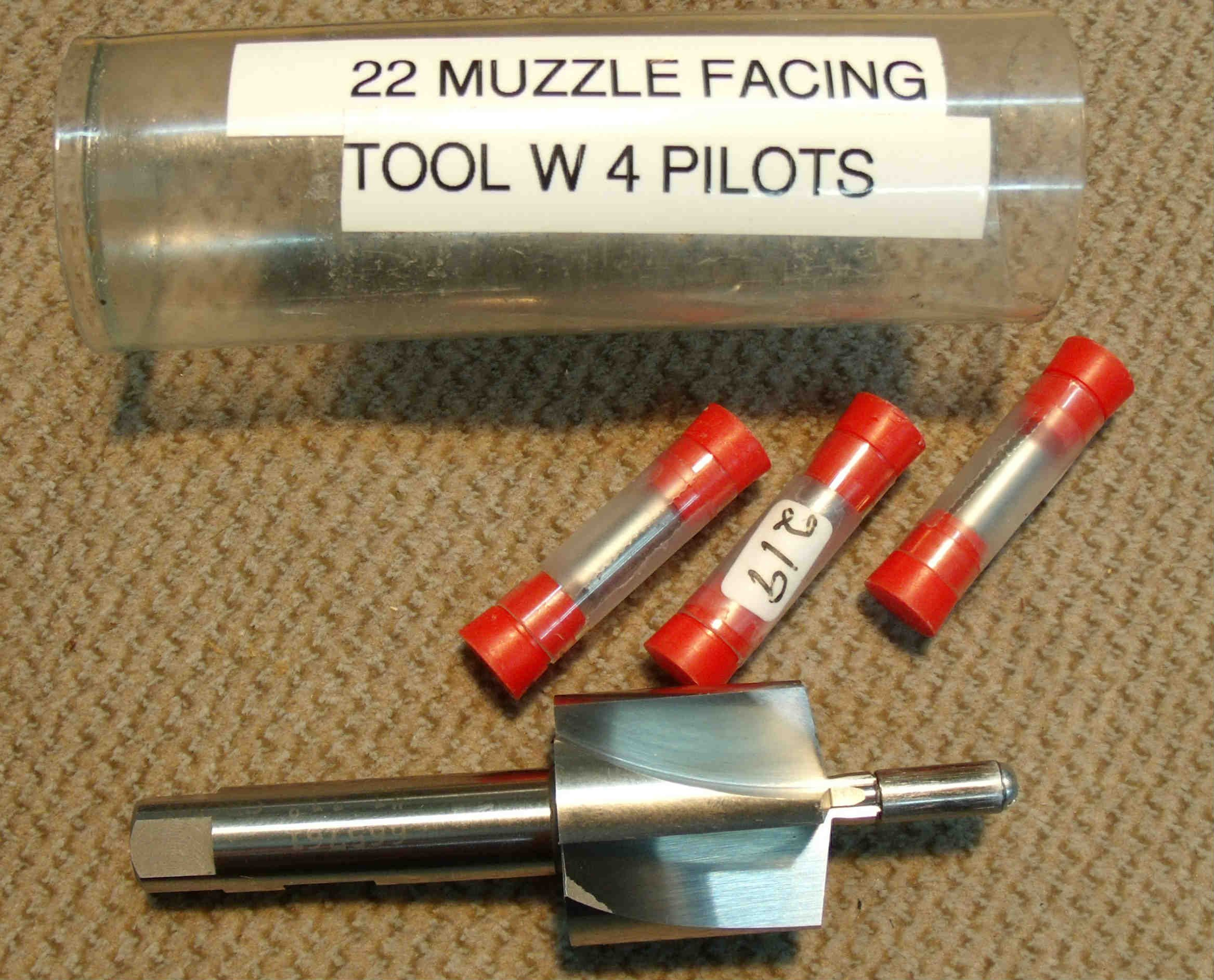 Muzzle facing tool 11 degree crown 22 and 243 4 pilots included muzzle facing tool 11 degree crown 22 and 243 4 pilots included fandeluxe Choice Image
