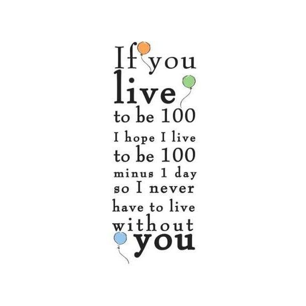 """York Wallcoverings RMK2436SCS Winnie the Pooh - """"Live to be 100"""" (£11) ❤ liked on Polyvore featuring home, children's room, children's decor, words, quotes, wallpaper, home decor, multi, phrase and saying"""