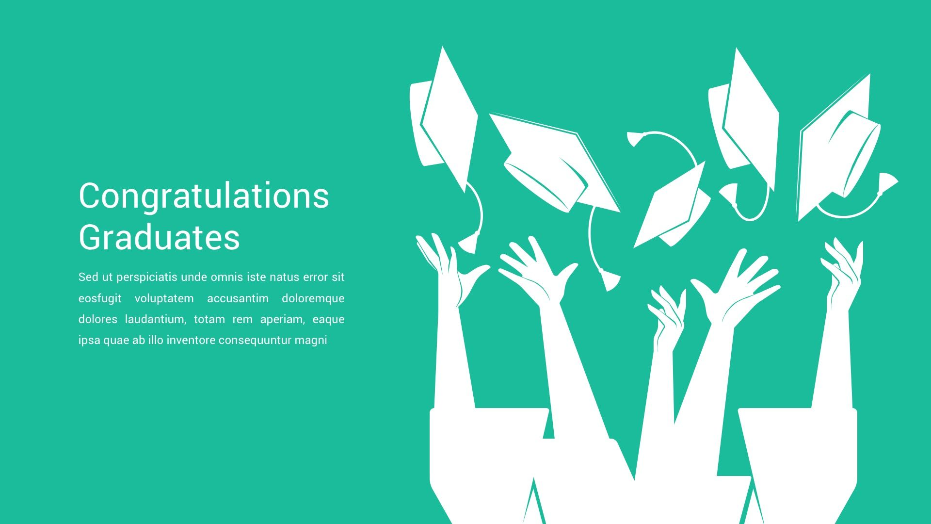 Congratulation Bubbles Powerpoint Backgrounds Templates