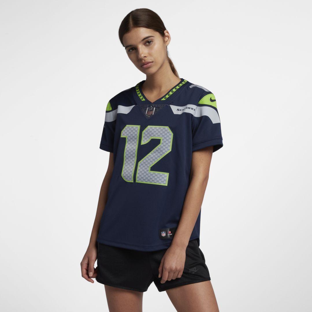 quality design 359f1 cfa46 NFL Seattle Seahawks Limited (Fan) Women's Football Jersey ...