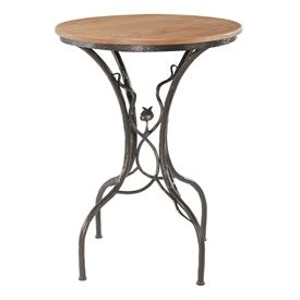 Wrought Iron Bar Table Sassafras Bar Height Table With 30