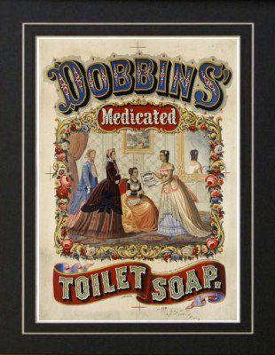 retro soap posters 1869 vintage toilet soap bathroom medical