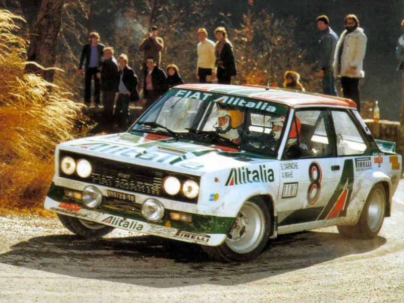 FIAT 131 Abarth rally car   Abarth   Pinterest   Rally car, Fiat ...