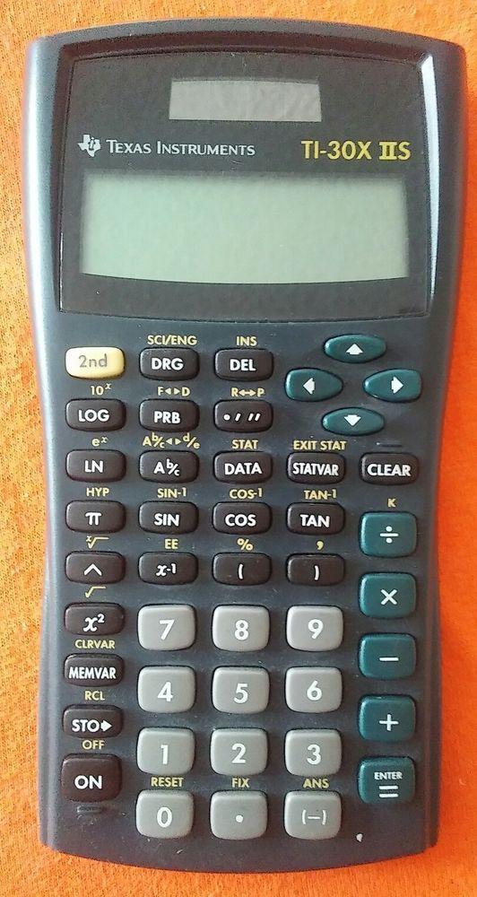 Texas Instruments TiX Iis Line Scientific Calculator  Calculator