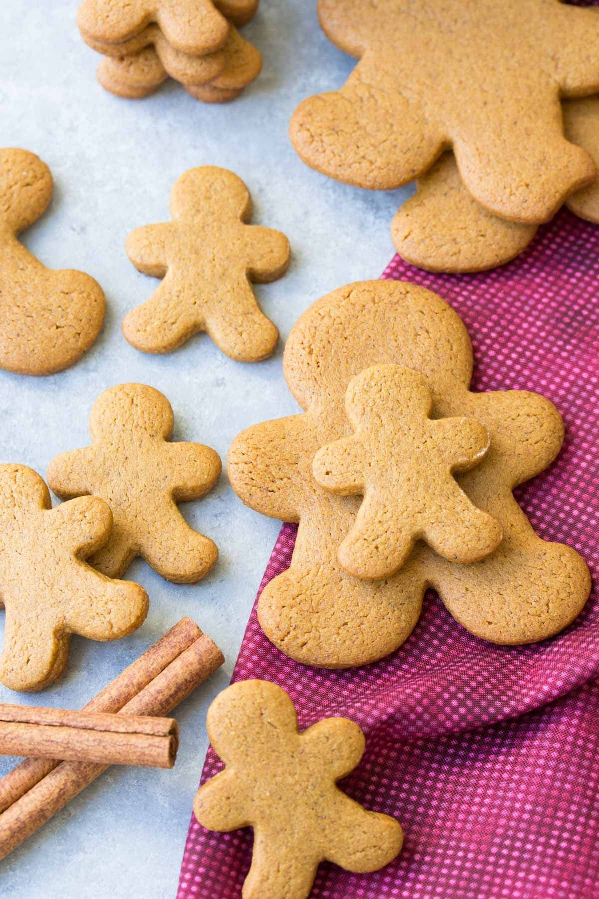 Our FAVORITE gingerbread cookie recipe! Perfectly spiced