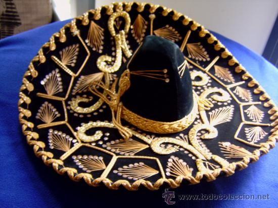 Sombrero de charro mexicano - Imagui Charreria Mexicana 313ce91895e