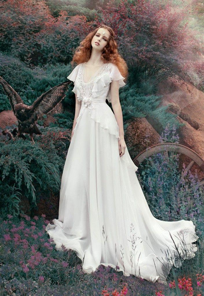Robe mariée inspiration médiévale