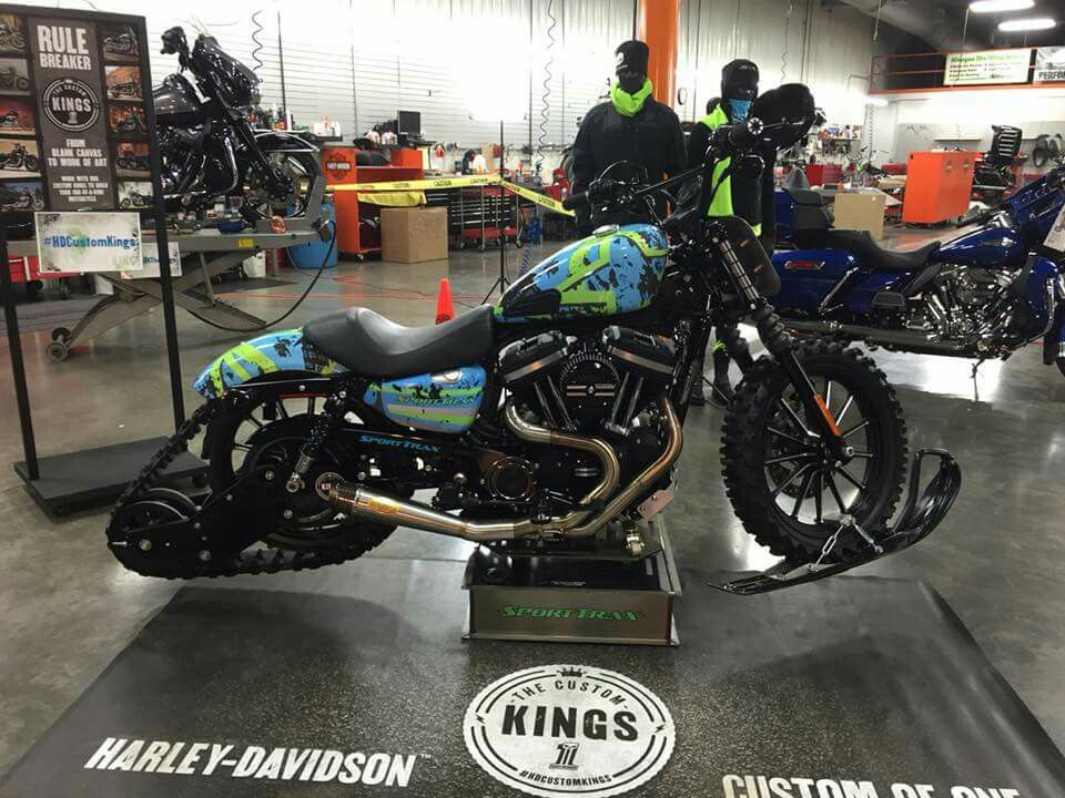 Mini Kühlschrank Harley Davidson : Harley davidson of appleton wi sportster custom kings build 2016