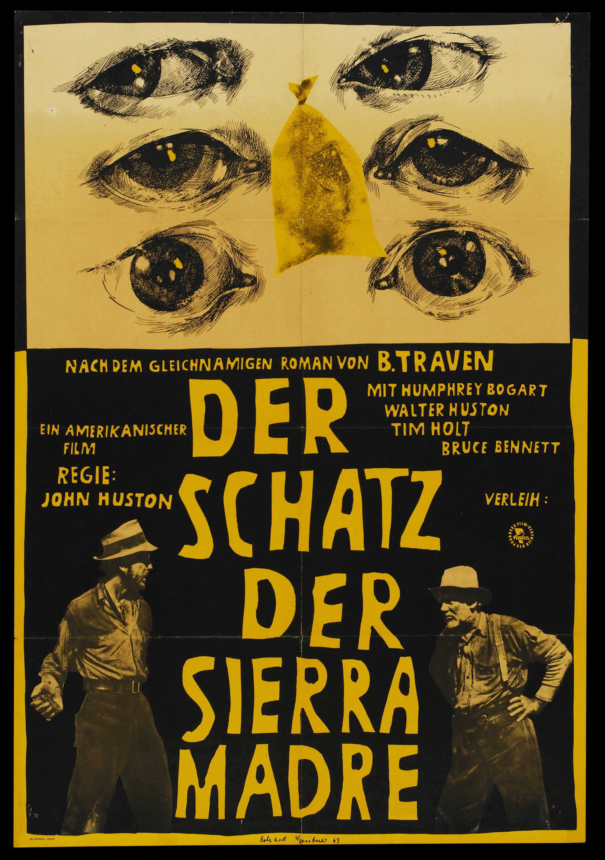 Treasure of the Sierra Madre (John Huston, 1948) German design
