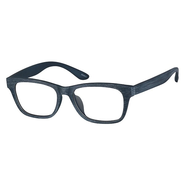 e6ee97825a7d Zenni Rectangle Prescription Eyeglasses Black Tortoiseshell TR