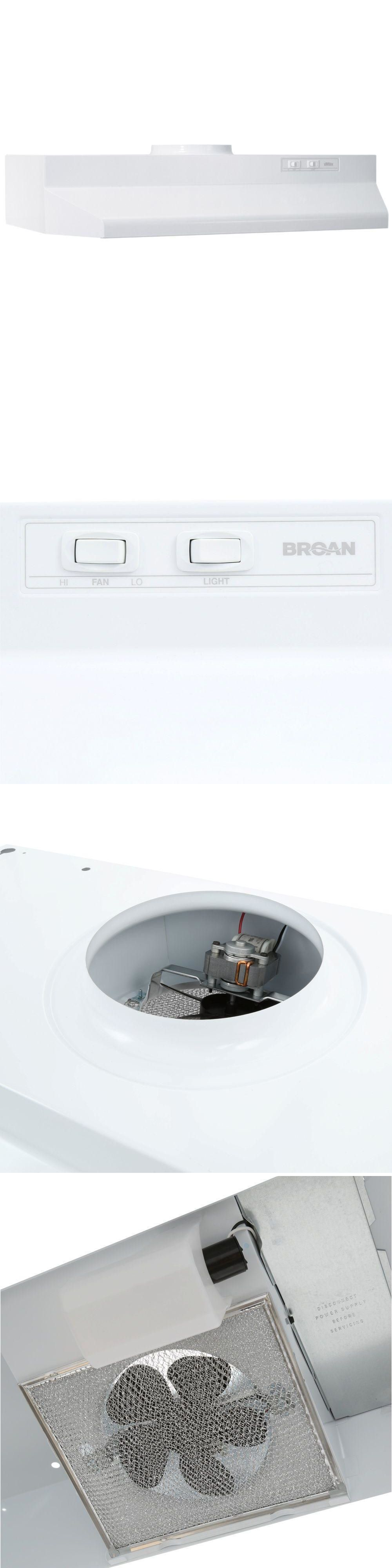 Range Hoods 71253 Broan 30 Range Hood Kitchen Stove Cooking Exhaust Fan Vent White 423001 Buy It Now Only 28 89 On Ebay Ra Broan Range Hoods Range Hood