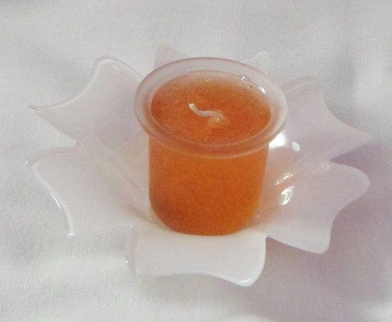 Vanilla scented gel candle by EnchantedRoseProduct on Etsy, $4.50