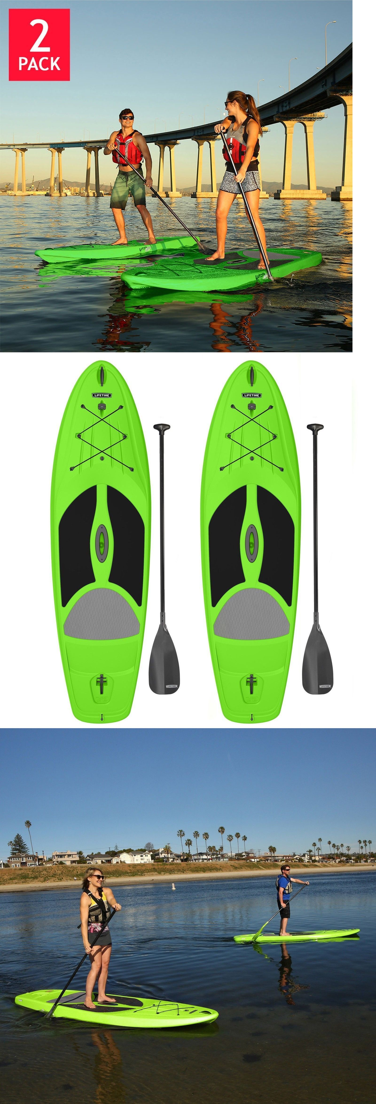 Stand Up Paddleboards 177504: Lifetime Stand Up Paddle Board 2-Pack, 10 Green Hardshell Horizon + Warranty! -> BUY IT NOW ONLY: $600.49 on eBay!