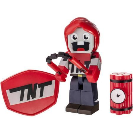 TUBE HEROS-ACTION FIGURE with ACCESSORIES EXPLODINGTNT