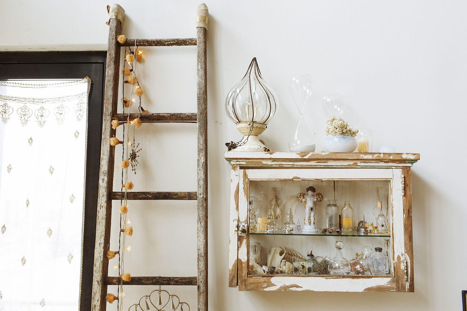 Pin by jacinta gana on home u diy pinterest vintage ladder