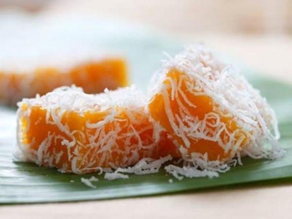 Nyonya Kuih Recipes Sweet Potato Gems Recipes Nyonya Food Potato Gems