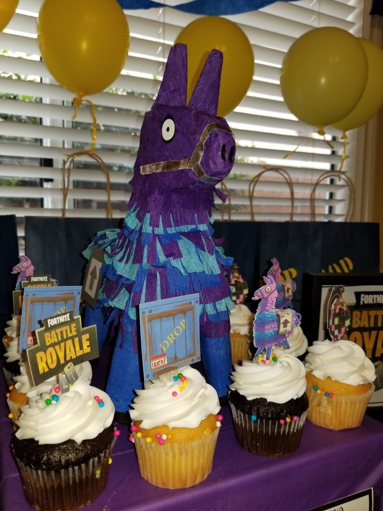 Fortnite Llama Kids Themed Birthday Parties Birthday Surprise Party Boy Birthday Parties