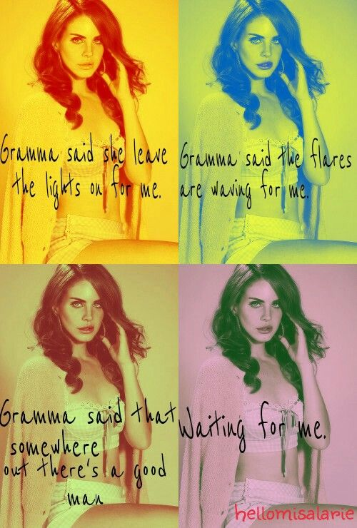 Lana Del Rey #Gramma by @hellomisalarie
