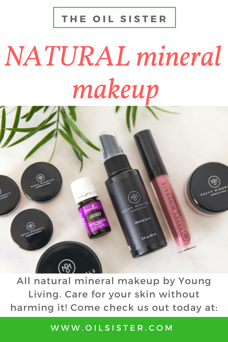 All Natural Savvy Minerals Makeup by Young Living Savvy