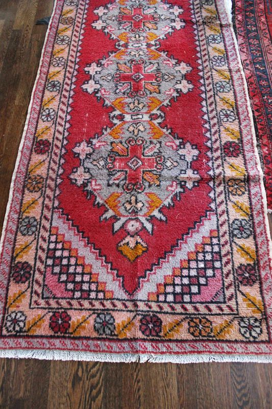 Overdyed Persian Rug