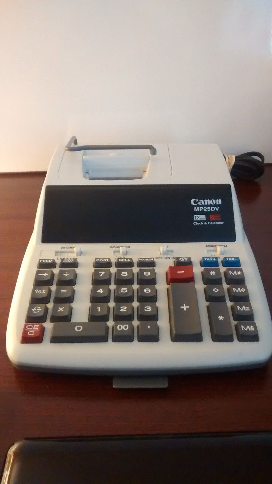 Canon Mp 25dv Printing Calculator 10 Key Adding Machine With Calendar 0038569108714 Ebay Printing Calculators Scientific Calculators Ebay