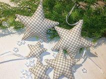 5 Sterne  Christbaumschmuck  Sternenzauber