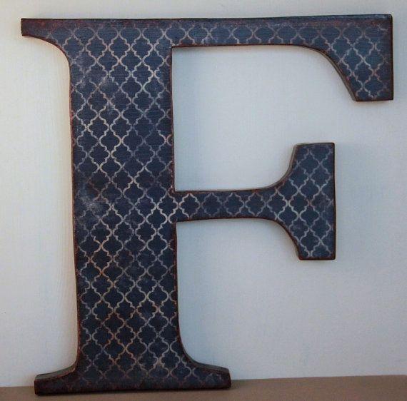 Letter F, 12\