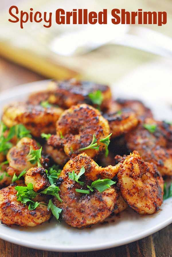 Grilled Shrimp with Spicy Seasoning | Healthy Recipes Blog