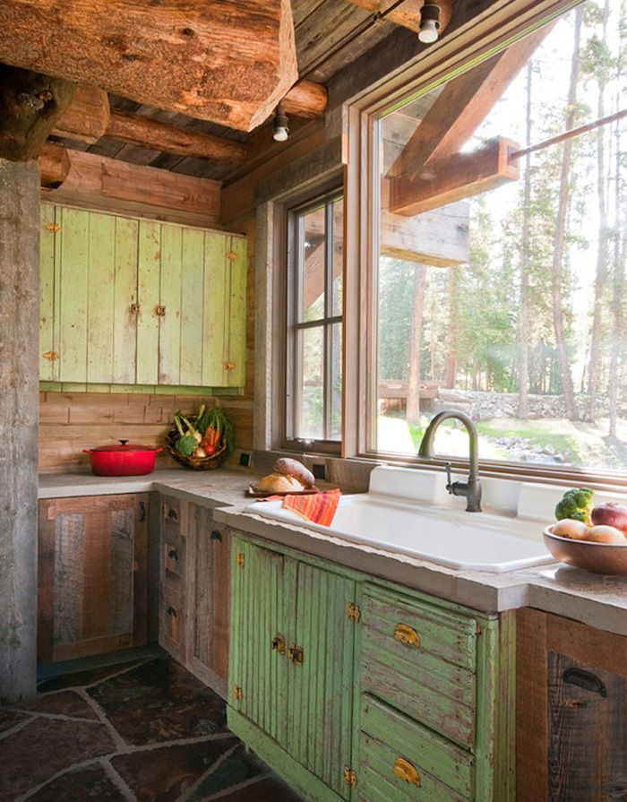 1001 + Ideas for Inspiring Rustic Kitchen and Dining Room ... on Rustic:yucvisfte_S= Farmhouse Kitchen Ideas  id=35957