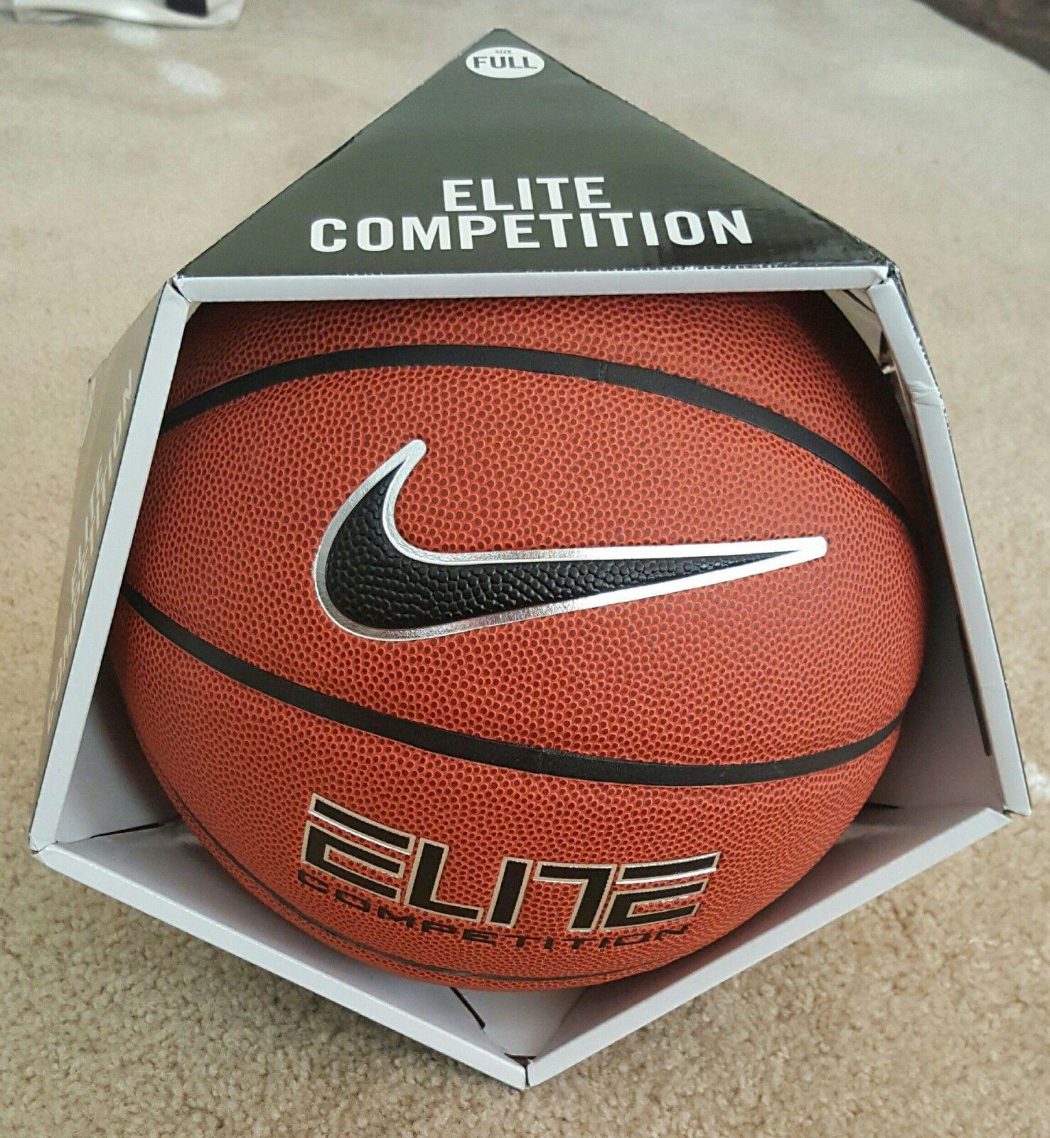 34b6aada2 nike elite competition 8-panel size 7 basketball ball | Common Shopping