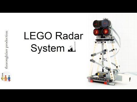 LEGO Mindstorms EV3 Radar System - YouTube | LEGO Stuff | Lego