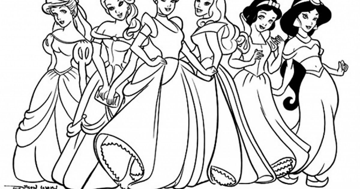 Coloring Pages Color Excelent Princess Coloring For Coloring Book Disney  Prince… Unicorn Coloring Pages, Disney Princess Coloring Pages, Rapunzel Coloring  Pages