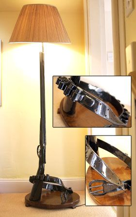 Standard Shotgun Lamp | The Game Room | Pinterest | Shotguns ...