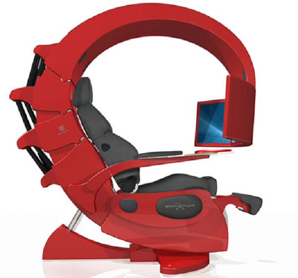 emperor Gaming chair, Computer workstation, Gaming station