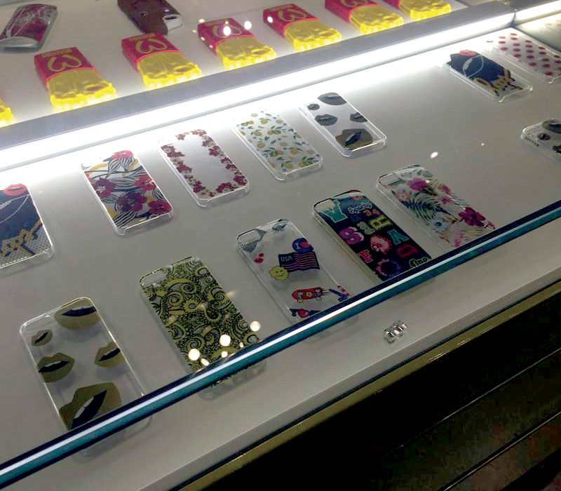 Sottile iPhone Cases  - Case & Covers for iPhone 5 and iPhone 6 on sale at Excelsior Milano. If you are around stop by please. http://www.blog.sottile.tv/sottile-iphone-cases-covers-at-excelsior-milano-store