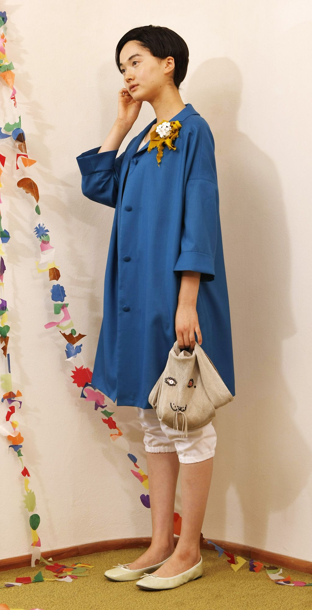*love this coat & bag, found through Rezontova Olga